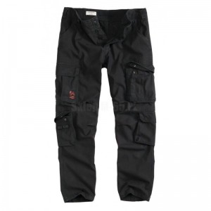 Airborne Trousers Slimmy Black Spodnie SURPLUS